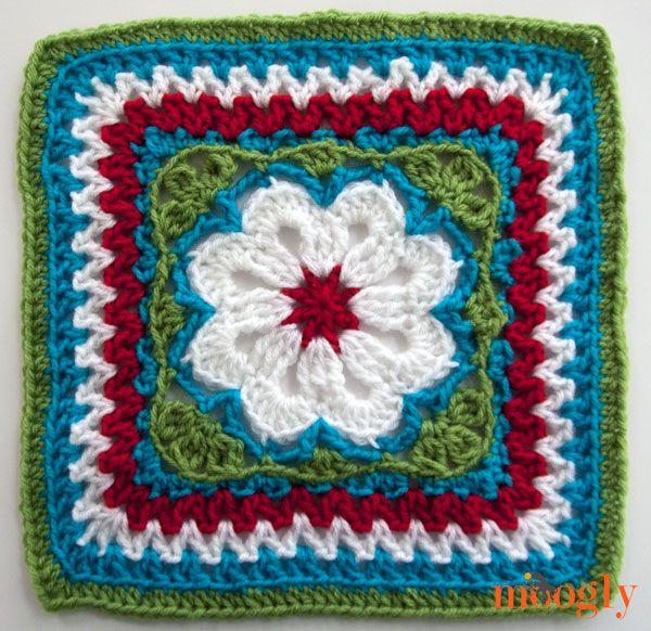 Die 412 besten Bilder zu crochet granny squares auf Pinterest