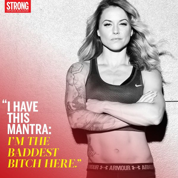 #Motivation with Christmas Abbott. Find more at strongfitnessmag.com