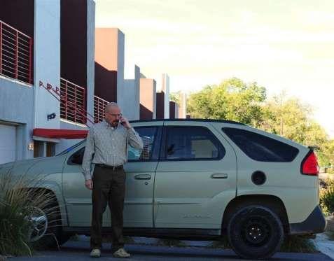 BREAKING BAD Pontiac Aztek -   Pontiac Aztek - Proporcionado por Prisa Noticias