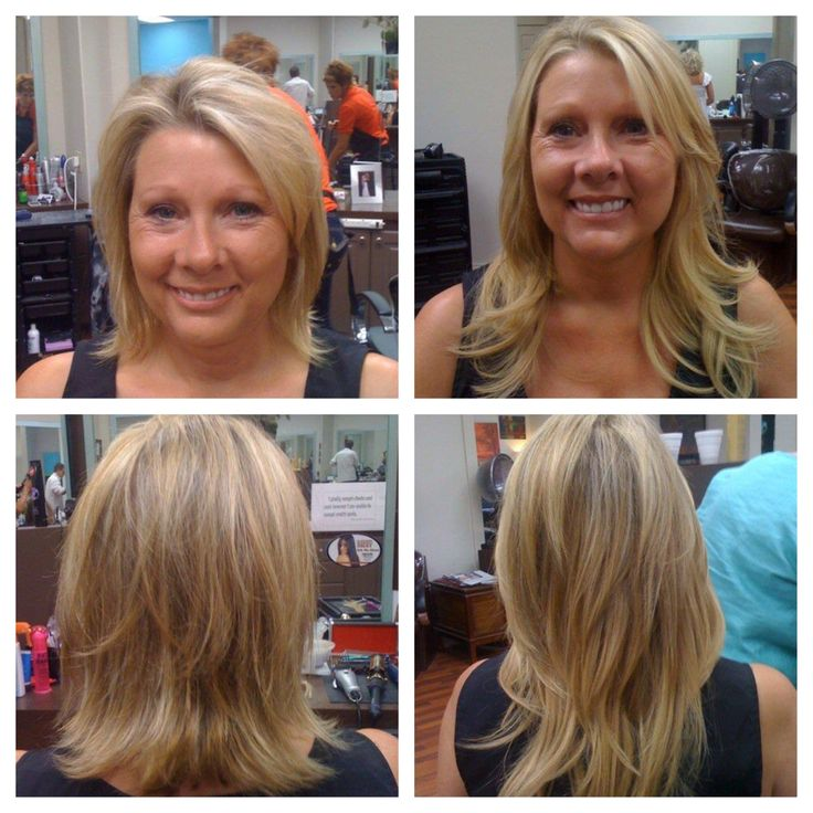 59 best lexs hair album images on pinterest nashville hair before and after extensions on blonde short hair long hair layered cut lex moore style pmusecretfo Choice Image