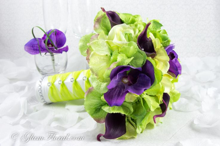 for the purple and green lovers