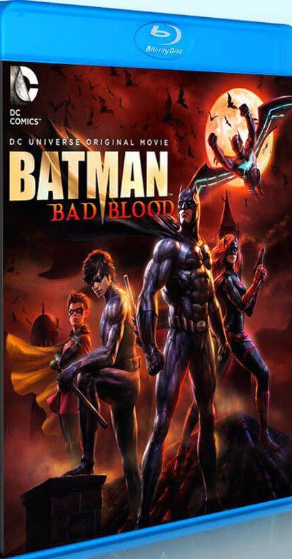 Batman Mala Sangre que en inglés se le conoce como Batman Bad Blood, es una película de género animación y llena de acción del año 2016. Esta es producida por Jay Oliva con el guión de J. M. DeMatteis. Bruce Wayne ha desaparecido. Alfred le cubre las espaldas mientras Nightwing y Robin patrullan Ciudad Gótica en su lugar. Y una nueva jugadora, Batwoman, investiga la desaparición de Batman. Es una película de animación que sirve como tercera parte de la historia iniciada en Son Of Batman