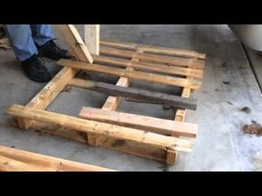 Learn The Best Ways to Dismantle a Wooden Pallet • Pallet Ideas • 1001 Pallets