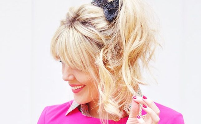 Use these tips to rock a sassy high ponytail.