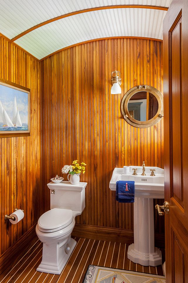 66 Best Nautical Powder Room Images On Pinterest