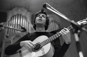 On stage at the Musikhalle in Hamburg in 1970