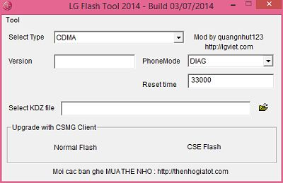 How To Flash LG Using LG Flash Tool