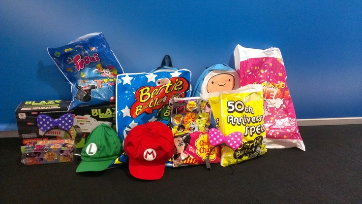 Our Showbag haul from the Sydney Royal Easter Show!