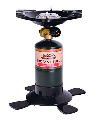 Texsport Barren Compact Lightweight  Single Burner Propane Stove for Outdoor Camping Backpacking Hiking Cooking 10000 BTU * Want additional info? Click on the image. Note:It is Affiliate Link to Amazon.