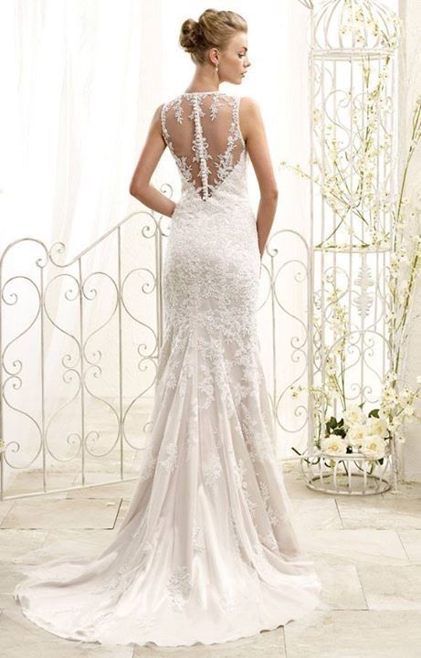 Wedding gown | Bridal dress | Eddy K | Style 77961 | Designed in Milan | Italian |  Soft Tulle | High neck | Available at Brides of Melbourne