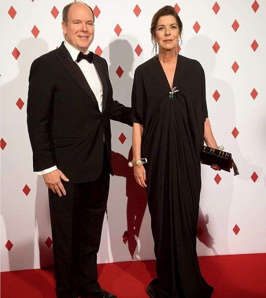 Monaco Princely family attend the Surrealist Dinner Party.   28-4-2017