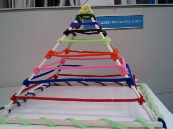 3d pyramid model project ideas preschool ideas