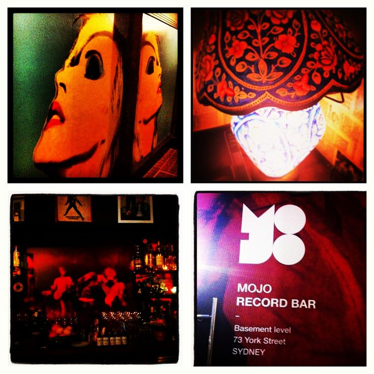 Mojo Record Bar - 73 York Street  'Great Records Out Front, Great Drinks Out Back.'  www.mojorecordbar.com