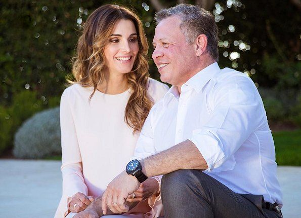 Today is the 24th wedding anniversary of King Abdullah and Queen Rania