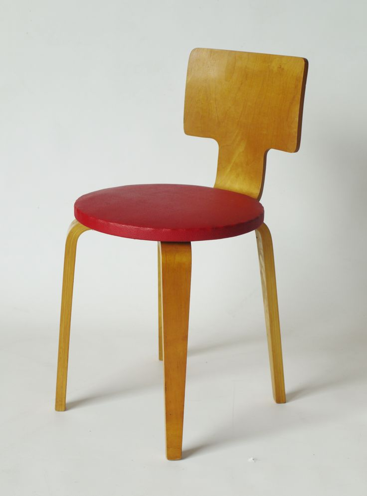 Cor Alons Model 519 Plywood Chair 1950s. Part Of Set Available At Merzbau.