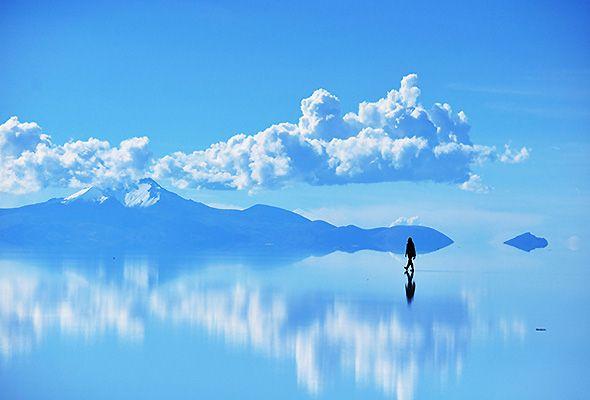 ウユニ塩湖 Salar de Uyuni, Bolivia