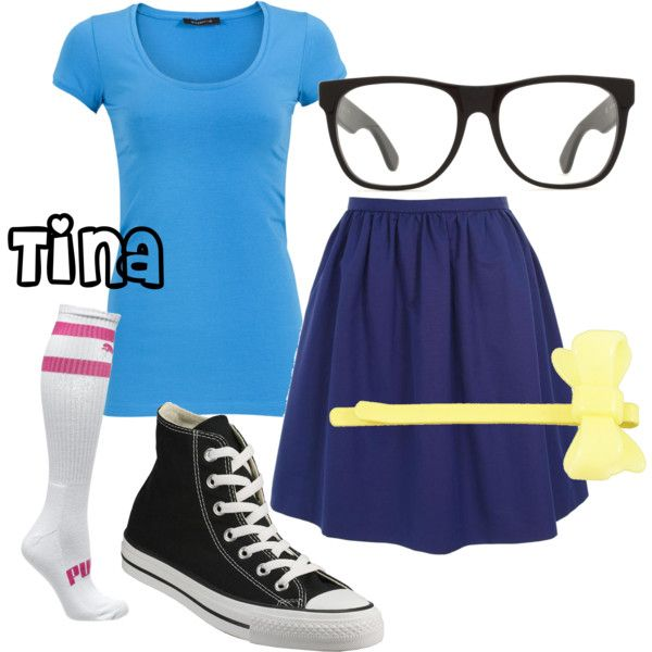Bob's Burgers: Tina, created by jsglick on Polyvore