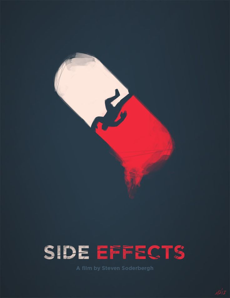 An interesting Side Effects Movie Poster. This was a pretty awesome movie!
