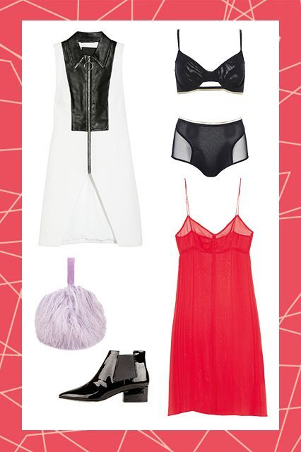 5 Subtle, But Sexy Ways To Wear Lingerie In Public #refinery29  http://www.refinery29.com/lingerie-outfit-ideas#slide-5  The High-Waisted Panty This particular intimate is a bit more complex: Usually VPLs are a major faux pas, but, in this instance, you want your underwear to be seen. Layered under a sheer dress, like this Topshop one, a high-waisted panty offers a retro vibe and plenty of coverage for your lady bits. For added modesty, slip on a sleek waistcoat.  ...