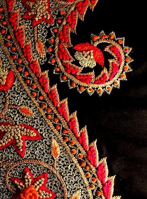 Kashida embroidery