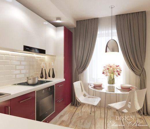"""Кухня в цвете """"марсала"""". Кухня"""