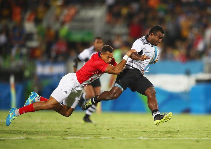 NAKARAWA Leone, NORTON Dan - Fiji (FIJ - RU - Male), Great Britain (GBR - RU - Male) - Rugby Sevens - Fiji, Great Britain - Men - Men's Gold Medal Match - DES - Deodoro Stadium