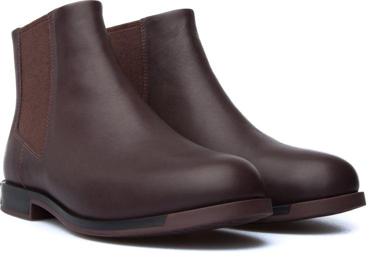 Camper Bowie Burgundy Boots Women K400023-005