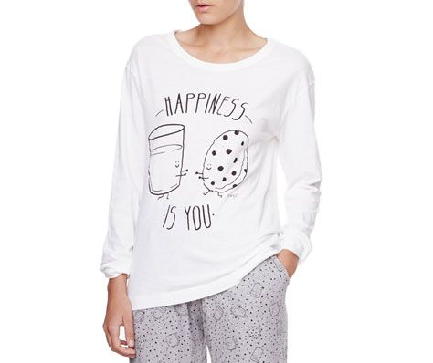 T-shirt Mr. Wonderful verre et biscuit - OYSHO