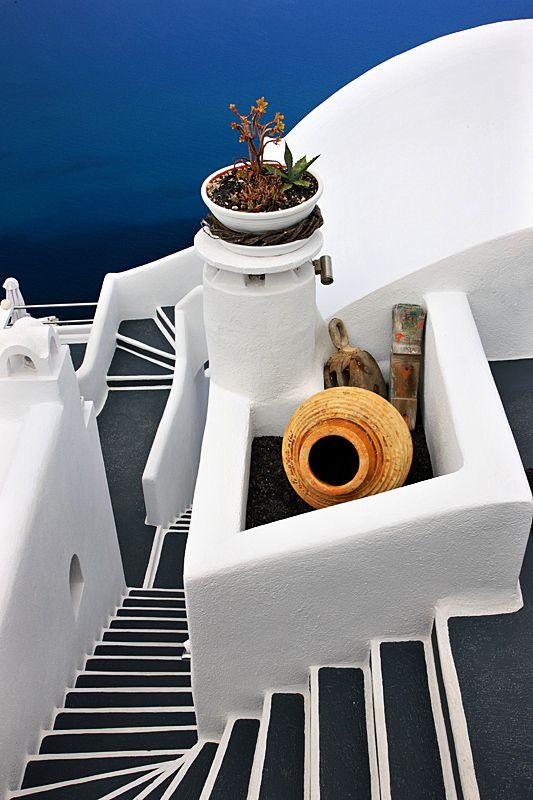 Cycladian Geometry - Santorini, Kyklades. ASPEN CREEK TRAVEL - karen@aspencreektravel.com
