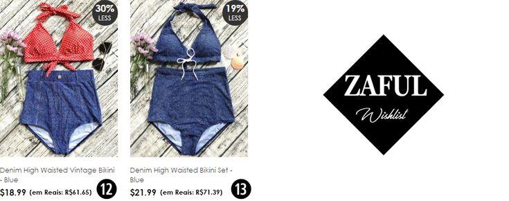 Seashell Bikini e Denim Bikini | biquíni de concha e biquíni jeans