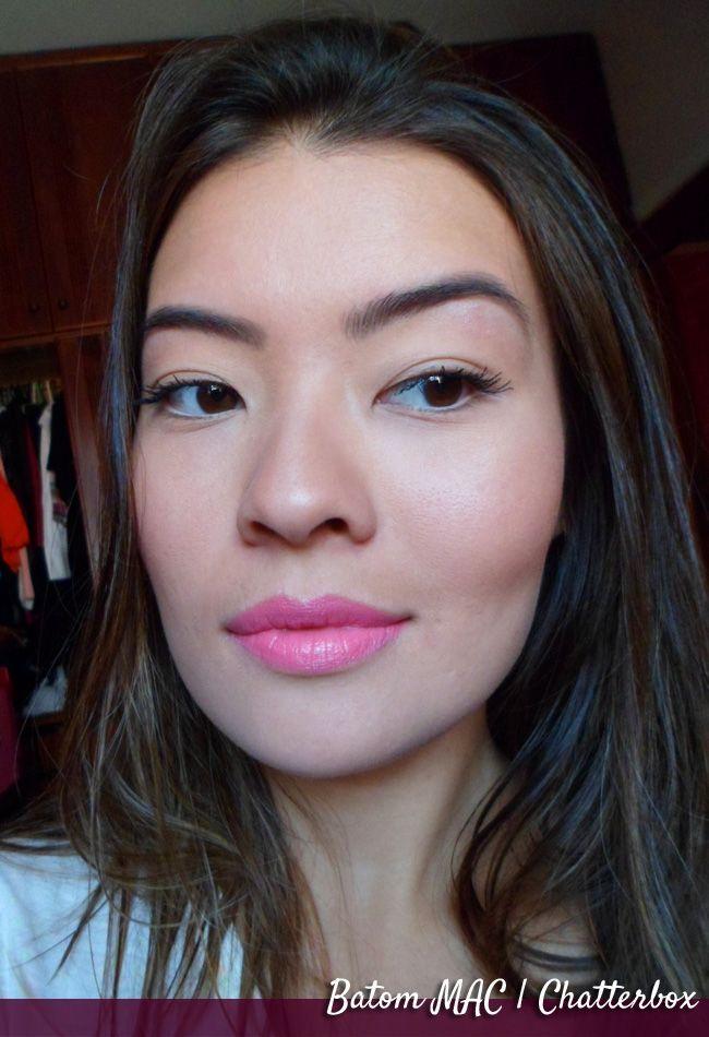 マック口紅, セクシーなメイクアップ, メイクアップ2, メイクアップのアイデア, メイクアップの美しさ, 髪の美しさ, プロムの髪, Mac Chatterbox Lipstick,