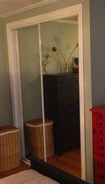Sliding Mirror Closet Doors Makeover best 25+ mirrored closet doors ideas only on pinterest | closet