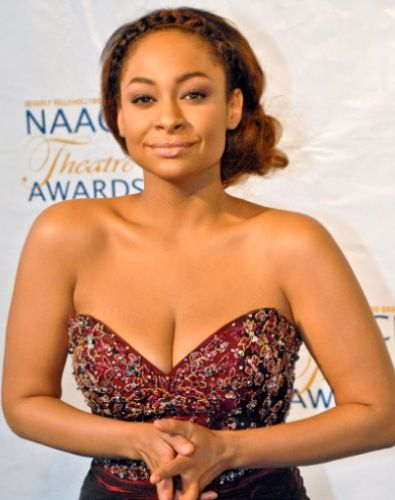 Raven Symone. Beautiful, confidant woman, beautiful, confidant style. And hilarious. :)