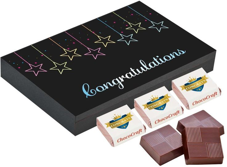 congratulations gifts to send | Gift chocolate box online