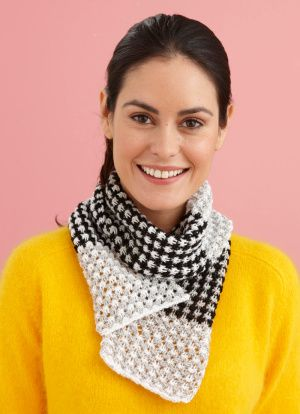 Three Color Scarf Knitting Pattern : Three Color Scarf Pattern (Knit) Knit scarves, Stitches and Yarns