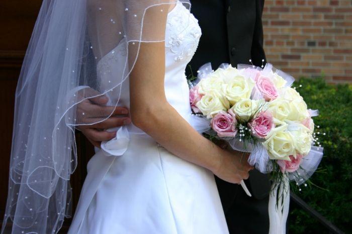Bouquets de mariée avec un seul type de fleur