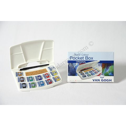 Talens Van Gogh Tablet Sulu Boya 15 (12+3) Renk | Sulu Boya Setleri | Talens