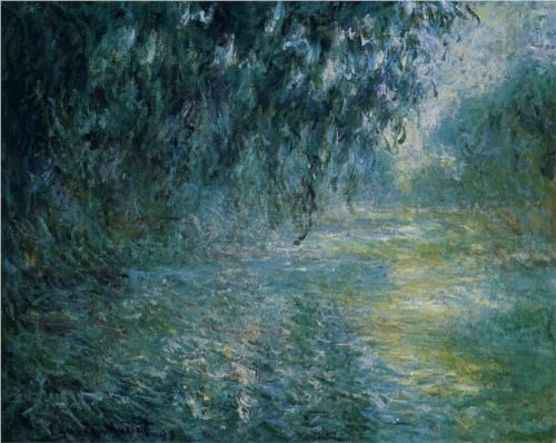 Morning on the Seine in the Rain - Claude Monet.  Professional Artist is the foremost business magazine for visual artists. Visit ProfessionalArtistMag.com.