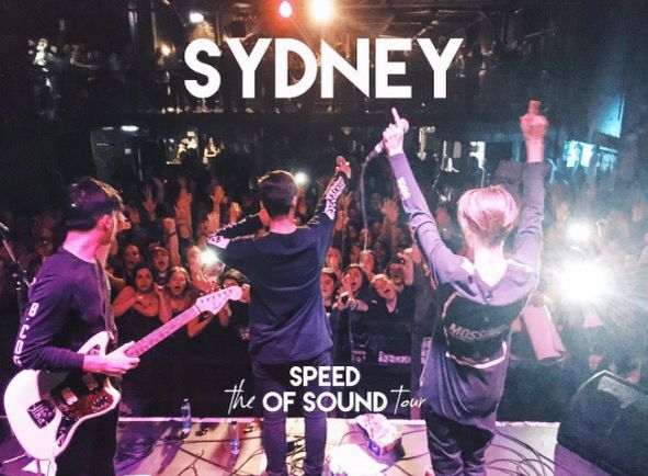The Speed Of Sound Tour // SYDNEY \\ In stereo