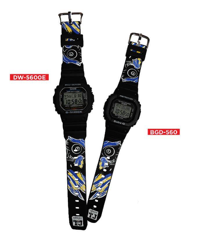 5365f9206 G-Shock x UrboyTJ Limited Edition DW-5600 Baby-G BGD-560 Collaboration  Watches