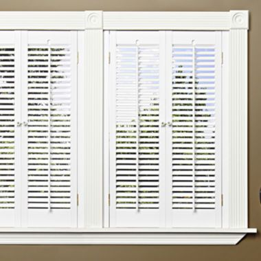 JCPenney+Home™+Faux-Wood+Traditional+Shutters+–+2+Panels +found+at+@JCPenney+