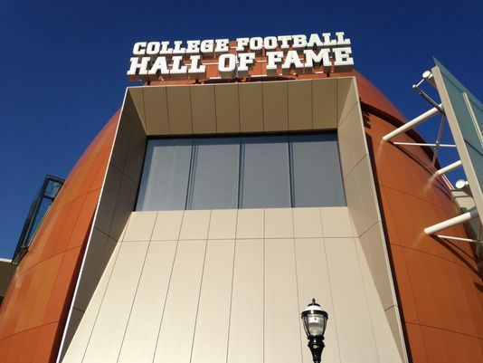 The College Football Hall of Fame is NOW OPEN in Atlanta, #Georgia!