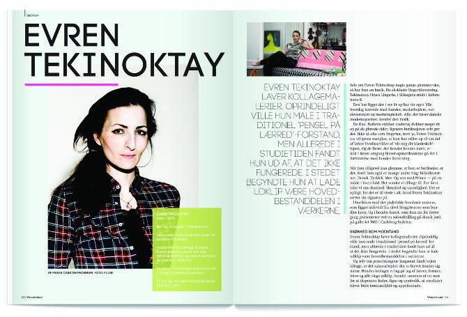 Editorial Design - Evren Tekinoktay - Emilie Linsaa