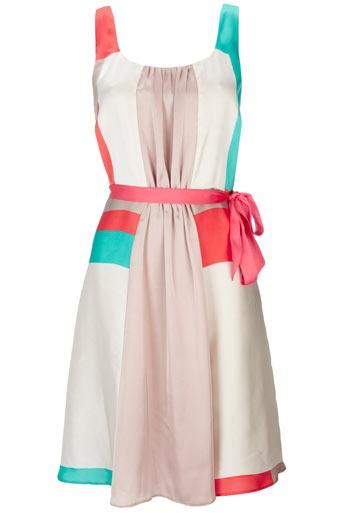 color blockingSummer Fashion, Summer Dresses, Spring Dresses, Summer Outfit, Style, Pleated Dresses, Colors Block, Summer Colors, Summer Clothing
