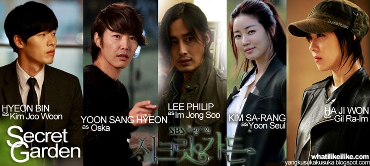 Secret garden korean drama cast members my fave kdrama for Canciones de oska jardin secreto