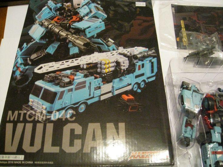 Make Toys MTCM-04C VULCAN Transformers 2016...