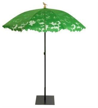 Droog Shadylace Parasol contemporary outdoor umbrellas - LOVELY!