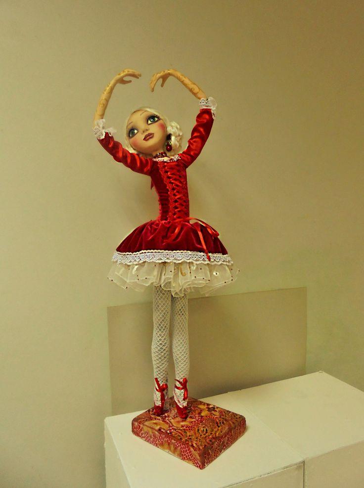 Doll Ballerina. Size 30 in.