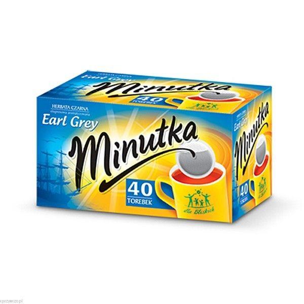 Herbata MINUTKA ex.40 EARL GREY | spozywczo.pl http://www.spozywczo.pl/hurtownia-kawy-herbaty