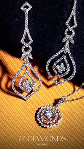 Getting the Friday feeling with our #diamond earrings and necklaces